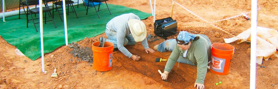 Charlotte residents rediscover their ancestors as New South's Archaeologists unearth the cemetery of one of the city's founding families.
